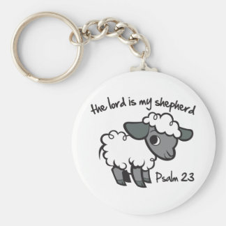 The Lord is my Shepherd Key Ring