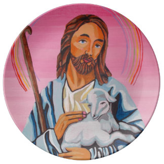 The Lord Is My Shepherd Plate