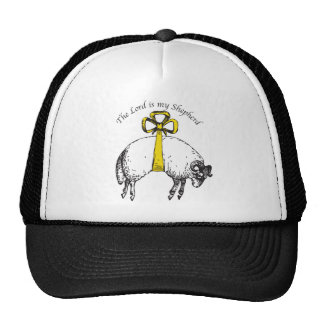 The LORD is my shepherd Psalm 23 Hat