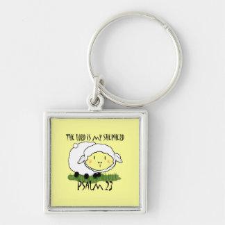 The LORD is my shepherd Psalm 23 Infant t-shirt- U Key Ring