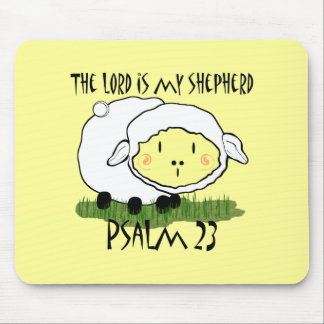 The LORD is my shepherd Psalm 23 Infant t-shirt- U Mouse Mat