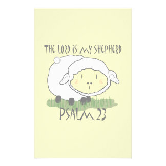 The LORD is my shepherd Psalm 23 Infant t-shirt- U Stationery
