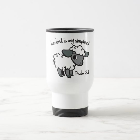 The Lord is my Shepherd Travel Mug