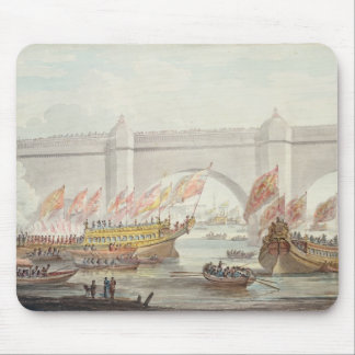 The Lord Mayor landing at Westminster Mouse Mat