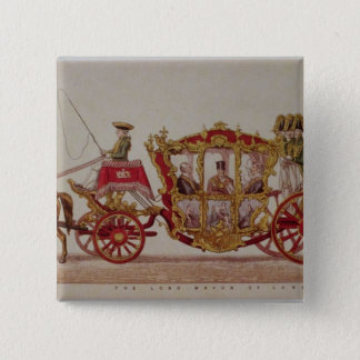 The Lord Mayor of London, 1853 15 Cm Square Badge