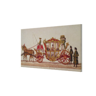 The Lord Mayor of London, 1853 Canvas Print