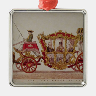 The Lord Mayor of London, 1853 Christmas Ornament