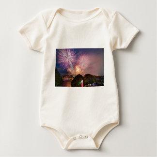 The Lord Mayor's Fireworks, Southbank London Baby Bodysuit