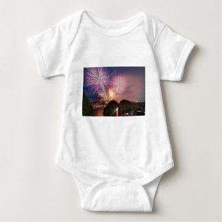 The Lord Mayor's Fireworks, Southbank London Baby Bodysuit