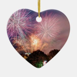 The Lord Mayor's Fireworks, Southbank London Christmas Ornament