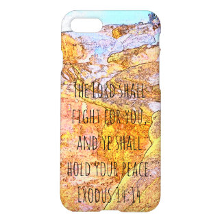 The Lord Shall Fight For You iPhone 8/7 Case