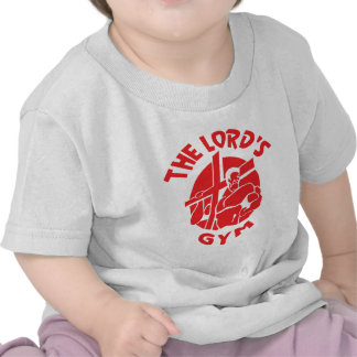 The Lord's Gym - Red Tshirt