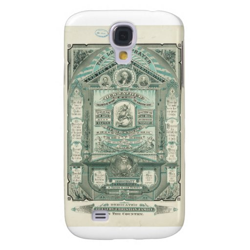 The Lord's Prayer and the Ten Commandments Galaxy S4 Cases