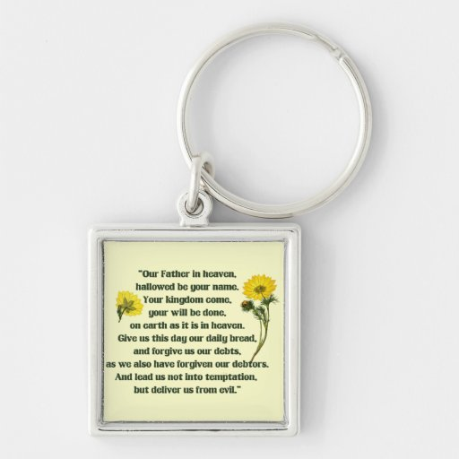 The Lords Prayer Keychain
