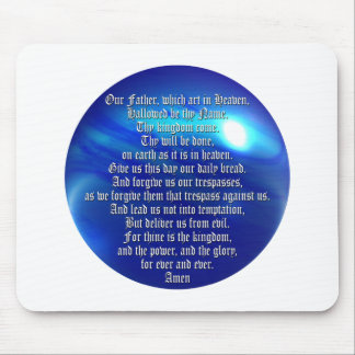 The Lord's Prayer Mouse Pad