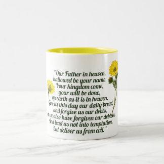 The Lords Prayer Coffee Mug