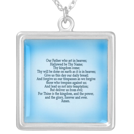 The Lord's Prayer Prayer Necklace