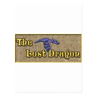 The Lost dragon Postcard