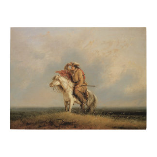 The Lost Greenhorn, Lost on the Prairie by Miller Wood Prints