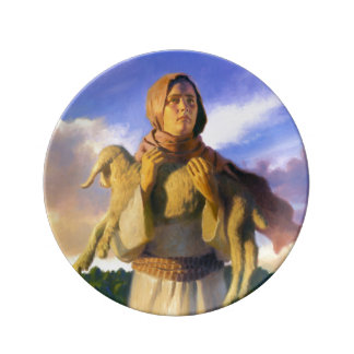 The Lost Sheep Porcelain Plate
