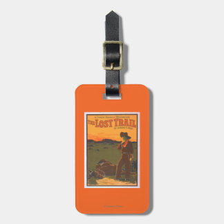 The Lost Trail - Comedy Drama Western Life Bag Tag