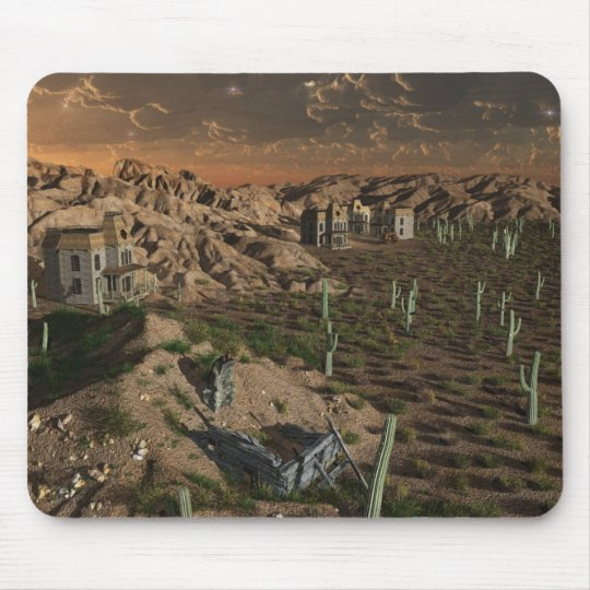 The Lost Western. Mouse Mat