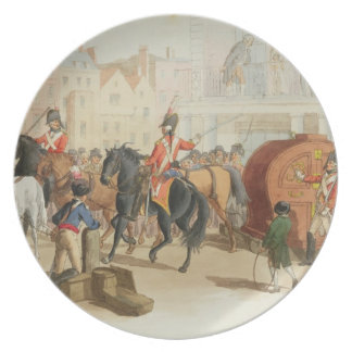 The Lottery Wheel, engraved by the artist, 1805 (a Party Plates