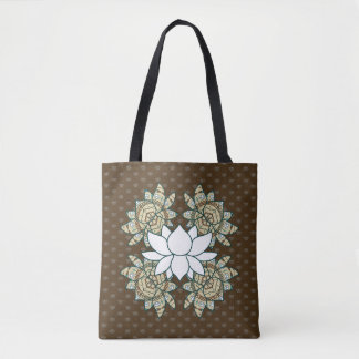 The Lotus All-Over-Print Bag