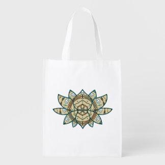 The Lotus Reusable Grocery Bag