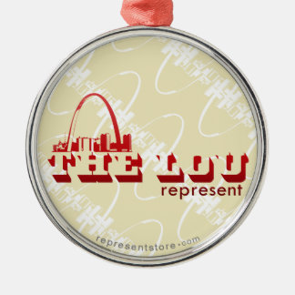 The Lou St. Louis Represent Christmas Ornament