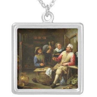 The Lounge Bar, 1657 Silver Plated Necklace