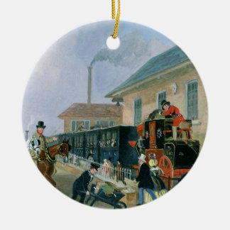 The Louth-London Royal Mail Travelling by Train fr Christmas Ornament