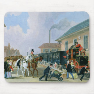 The Louth-London Royal Mail Travelling by Train fr Mouse Mat
