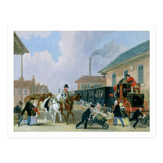 The Louth-London Royal Mail Travelling by Train fr