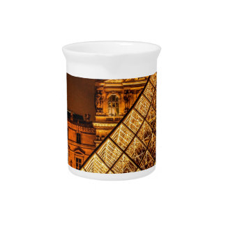The Louvre Beverage Pitchers