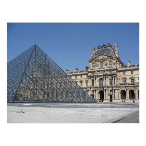 The Louvre Museum Postcard
