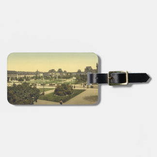 The Louvre, Paris, France Luggage Tag