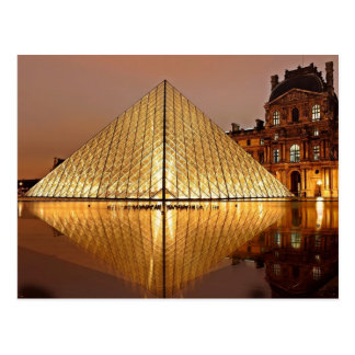 The Louvre, Paris, France Postcard