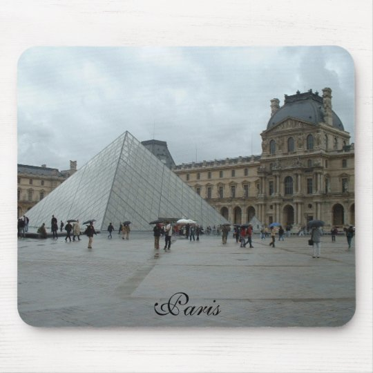 The Louvre, Paris Mouse Mat