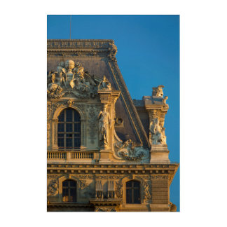 The Louvre Roof Detail Acrylic Wall Art