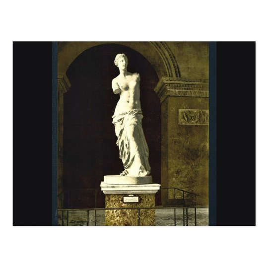 The Louvre, the Venus de Milo, Paris, France class Postcard