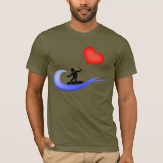The love cool kitesurfing icon T-Shirt