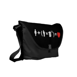 The Love Equation for Men Courier Bag