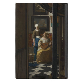 The Love Letter by Johannes Vermeer Covers For iPad Mini