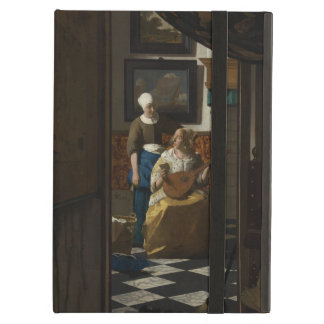 The Love Letter by Johannes Vermeer iPad Air Case