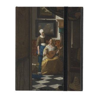 The Love Letter by Johannes Vermeer iPad Folio Case