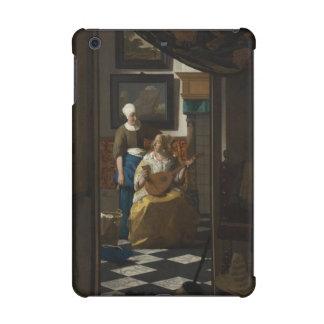 The Love Letter by Johannes Vermeer iPad Mini Retina Covers