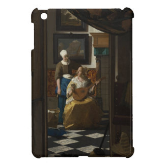 The Love Letter by Johannes Vermeer iPad Mini Cover