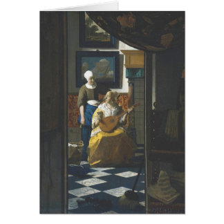 The Love Letter by Vermeer Card