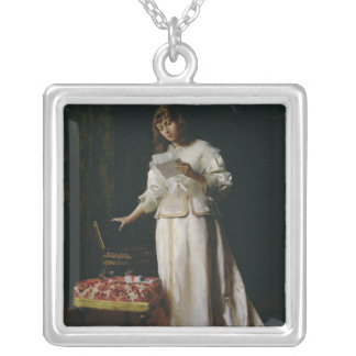 The Love Letter Silver Plated Necklace